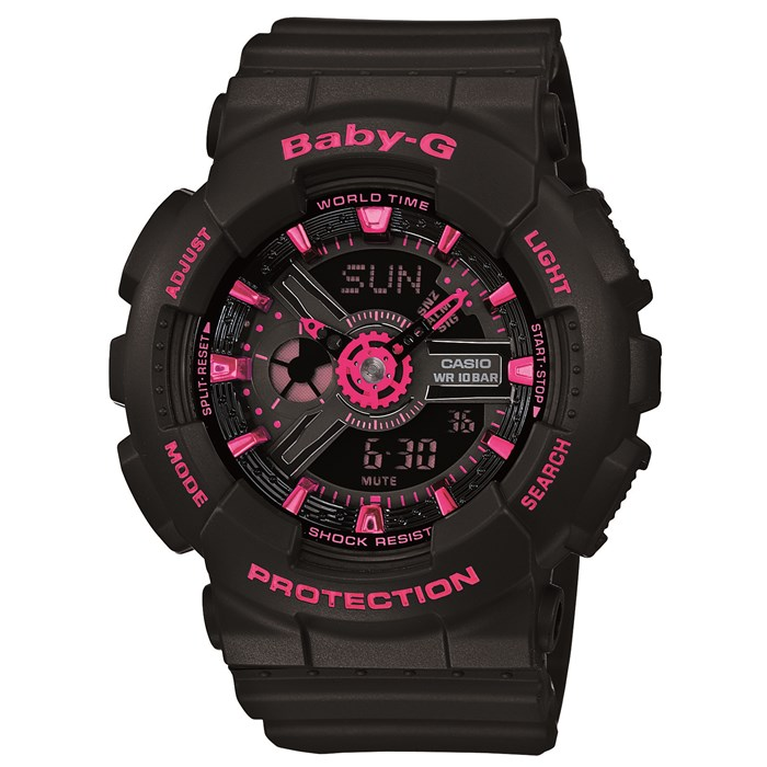G-Shock - BA-111-1A Street Neon Watch - Women's