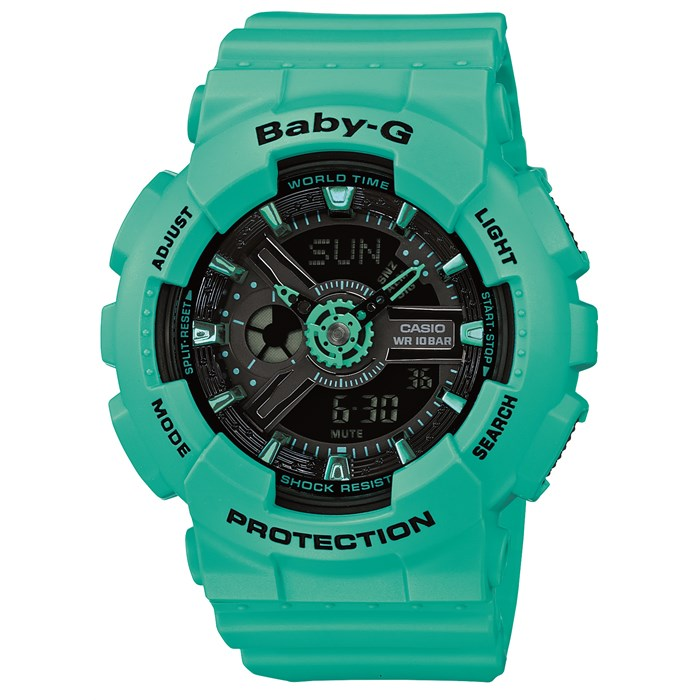 G-Shock - BA-111-3A Street Neon Watch - Women's