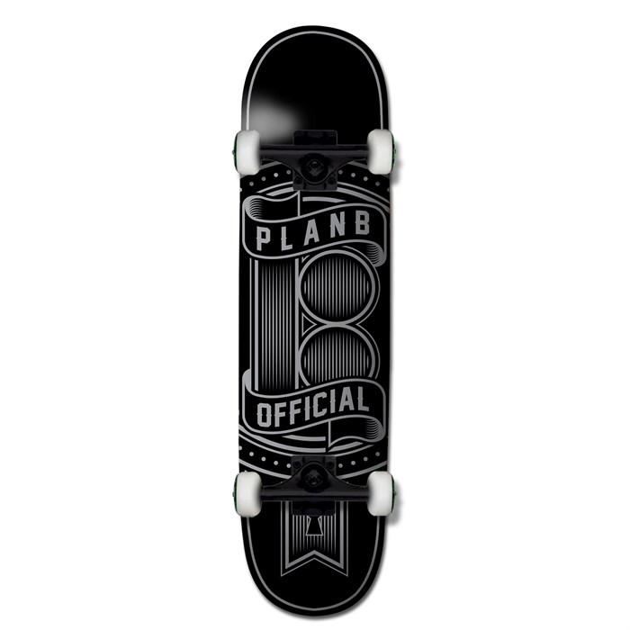 Plan B - Team Logo 7.75 Skateboard Complete