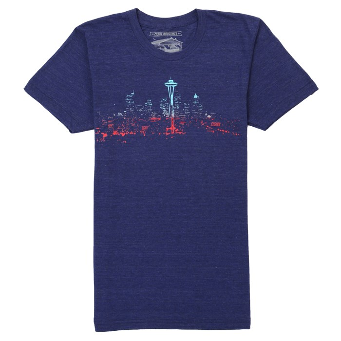 Casual Industrees - Seattle Lights Fade T-Shirts