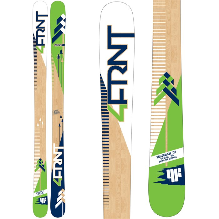 4FRNT - Switchblade Skis 2015