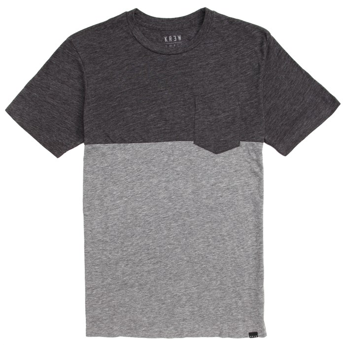 Kr3w - Color Block Pocket T-Shirt
