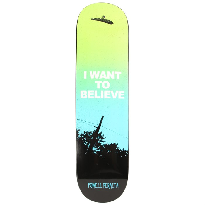 Powell Peralta - Believe Fun Shape Skateboard Deck