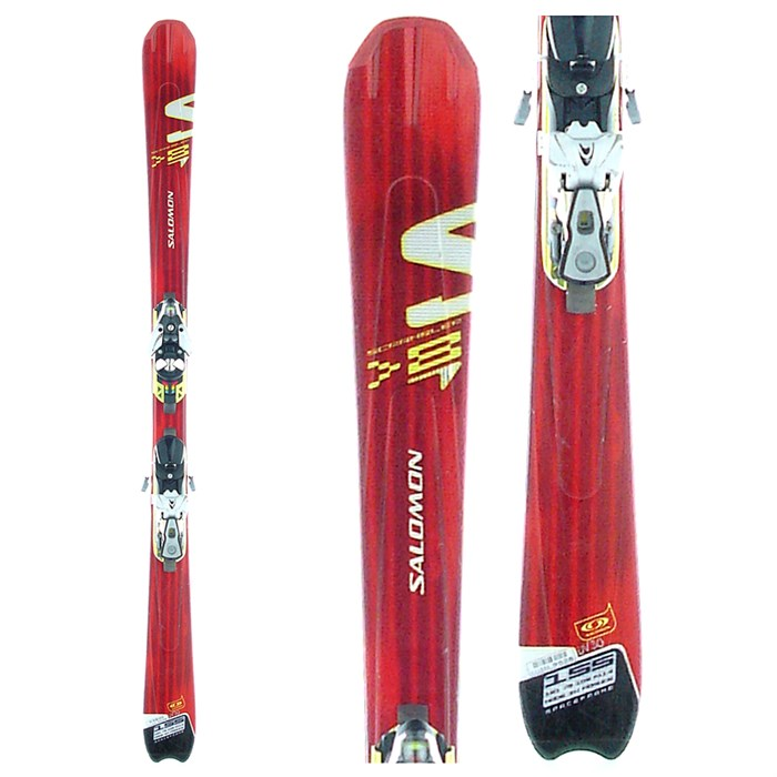 Salomon - Scrambler 8 Skis + Bindings - Used 2006