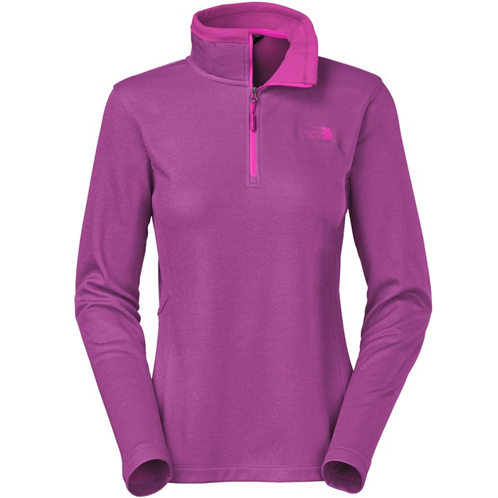 The North Face - Rosette 1/4 Zip Fleece - Women's ...