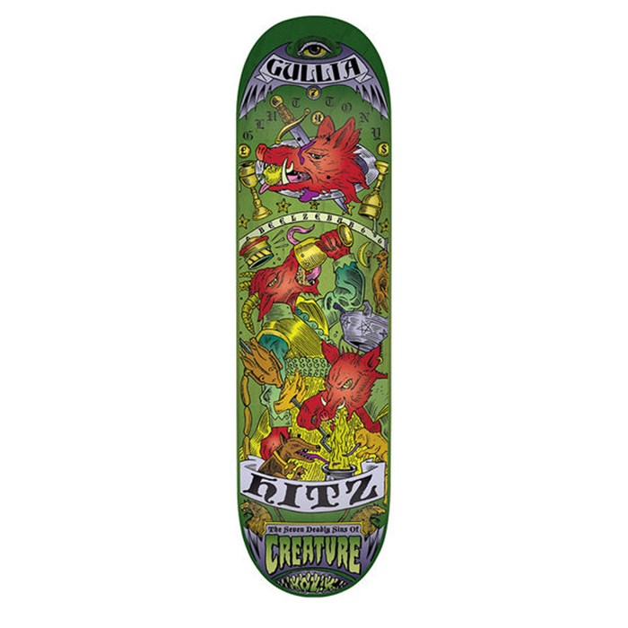 Creature - Hitz 7 Deadly Sins 8.8 Skateboard Deck