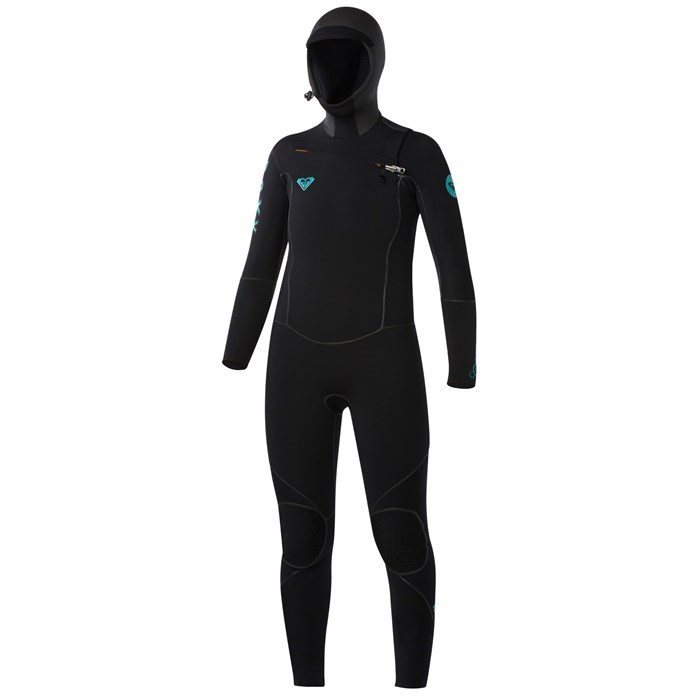 Roxy - Cypher 5/4/3 Hooded Chest Zip Wetsuit - Women's