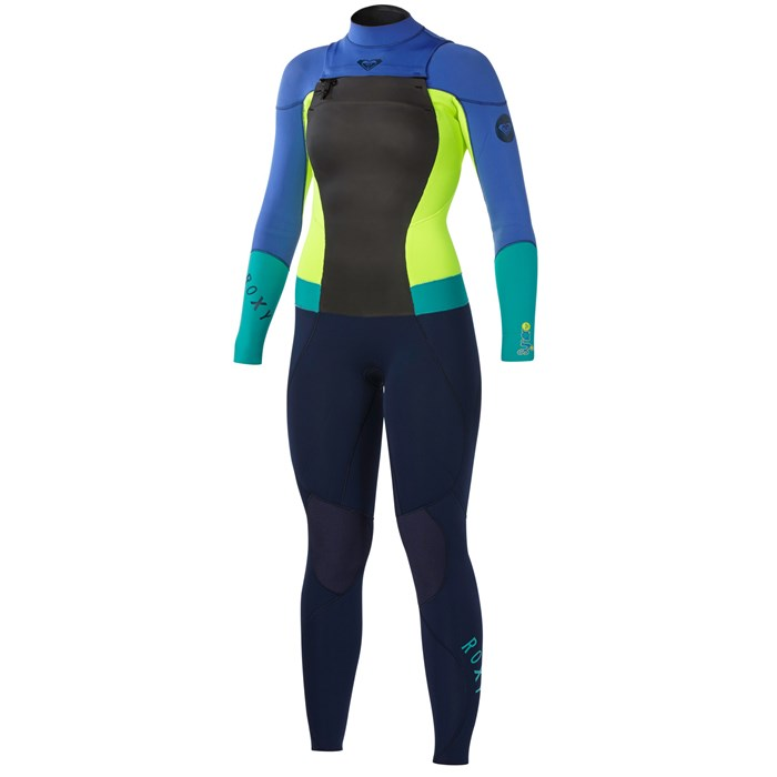 Roxy - Syncro 3/2 Chest Zip GBS Wetsuit - Women's