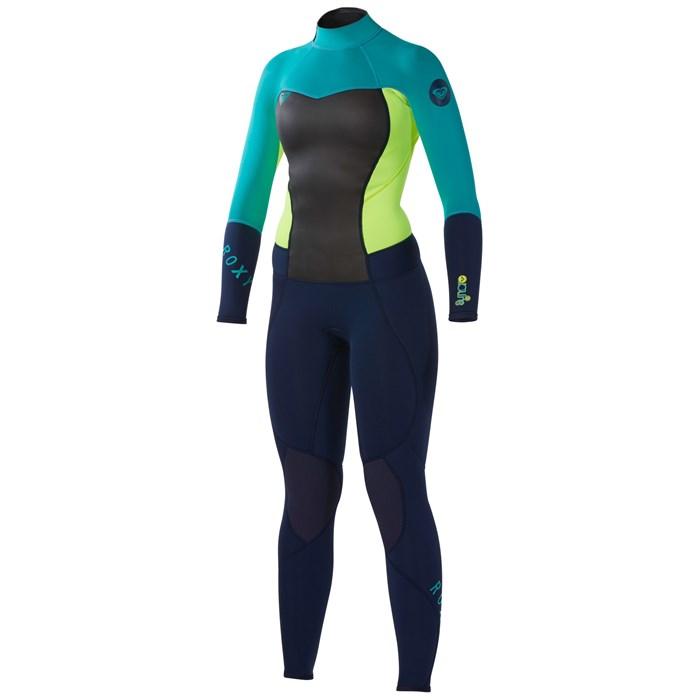 Roxy - Syncro 3 2 Back Zip Flat Lock Wetsuit - Women s ... 2542b584d