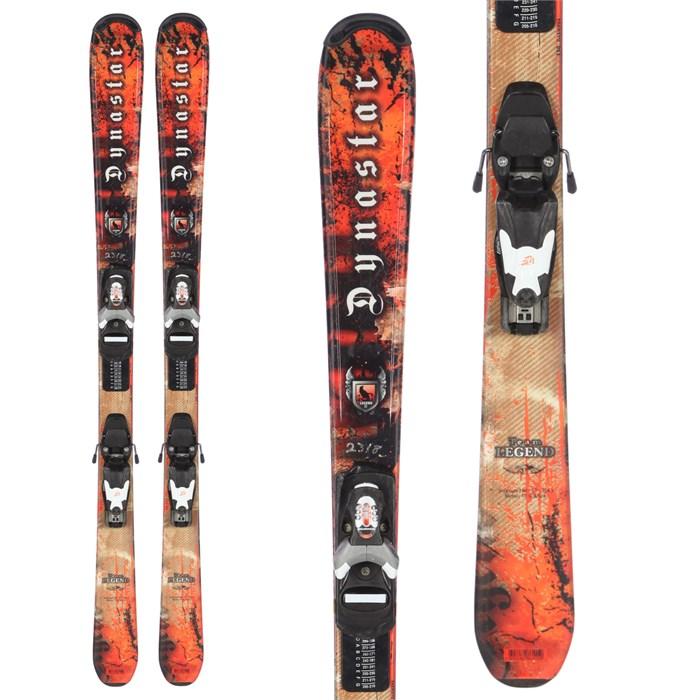 Dynastar - Team Legend Skis + Team 4 Demo Bindings - Kids' 2009 - Used