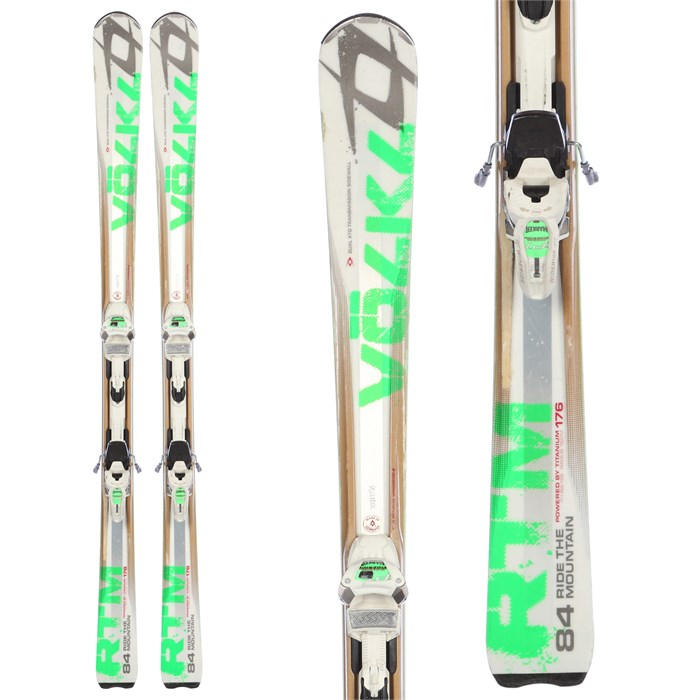 Volkl RTM 84 Skis + IPT WR 12 Bindings - Used 2012