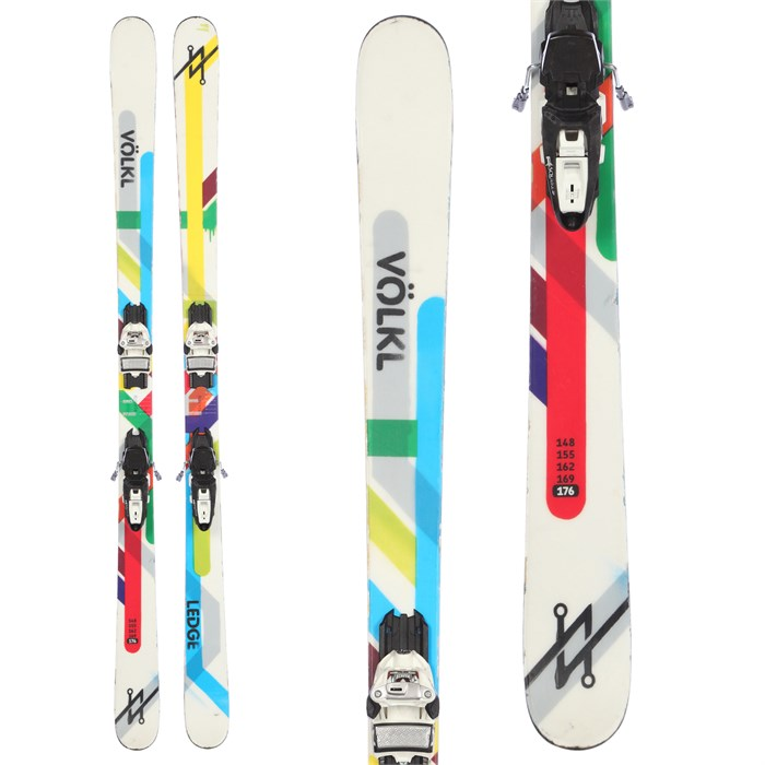Volkl Ledge Skis + Marker Griffon Demo Bindings