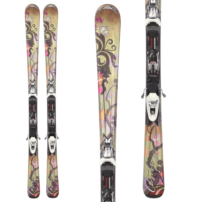 Nordica Drive Skis + N Sport 10 Bindings