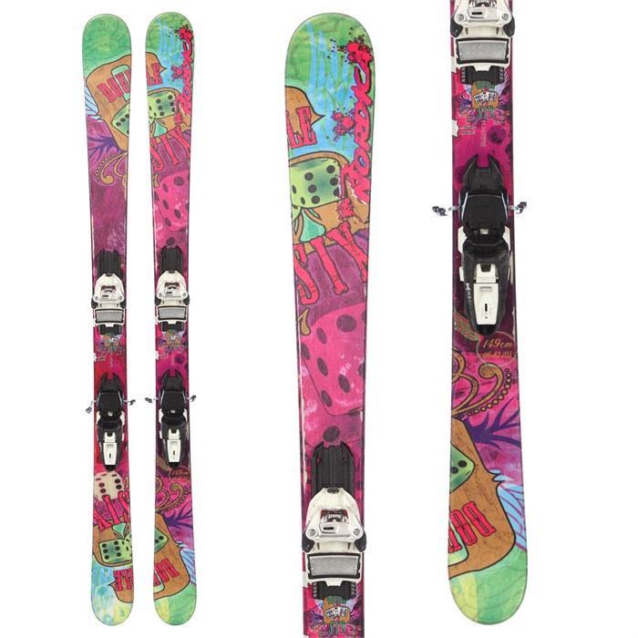 Nordica Double Six Skis + Marker Squire Demo Bindings