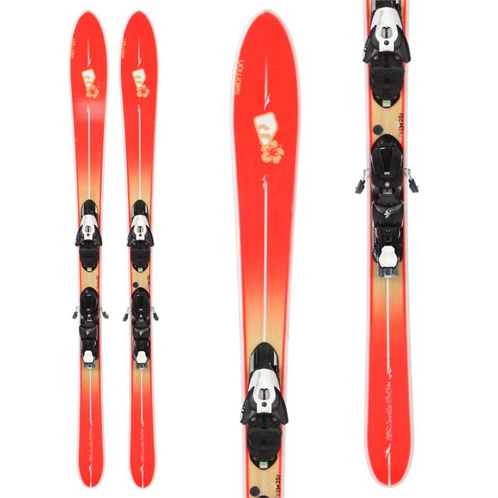 Salomon BBR Sunlite Skis + Z10 Demo Bindings