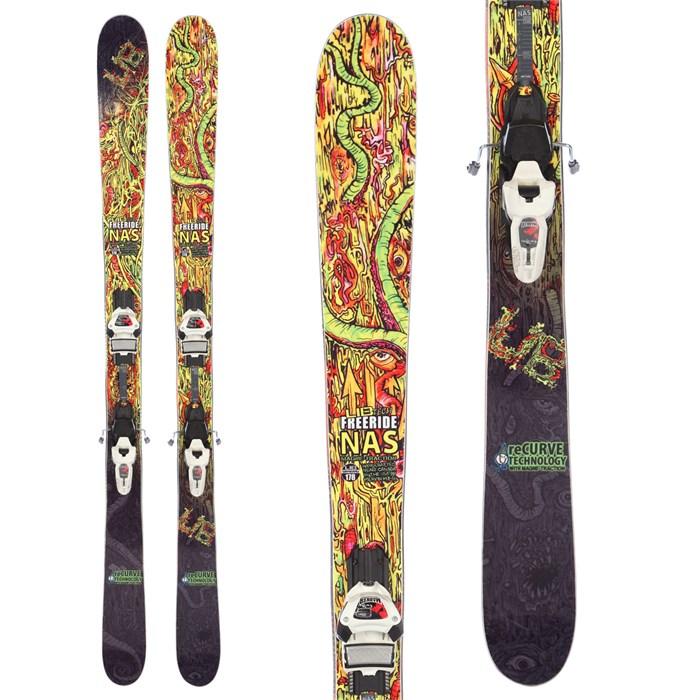 Lib Tech Freeride NAS Skis + Marker Griffon Demo Bindings