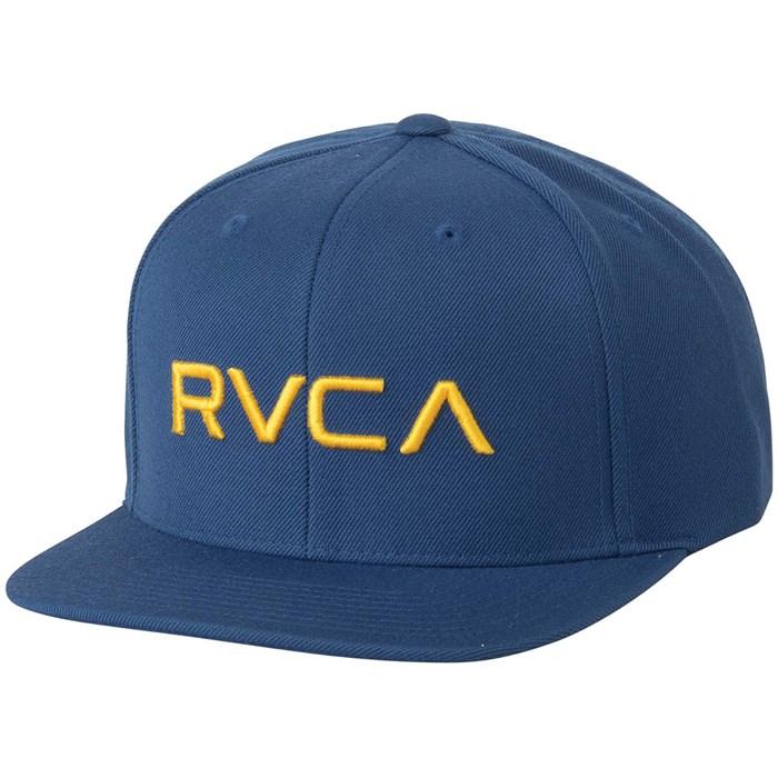 51fdd3c47d986 RVCA Twill Snapback II Hat