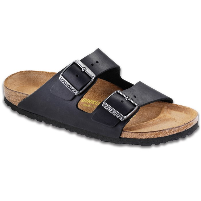 Birkenstock - Arizona Oiled Leather Sandals - Women's