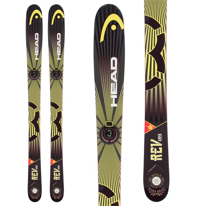 Head - Rev 105 Skis 2014