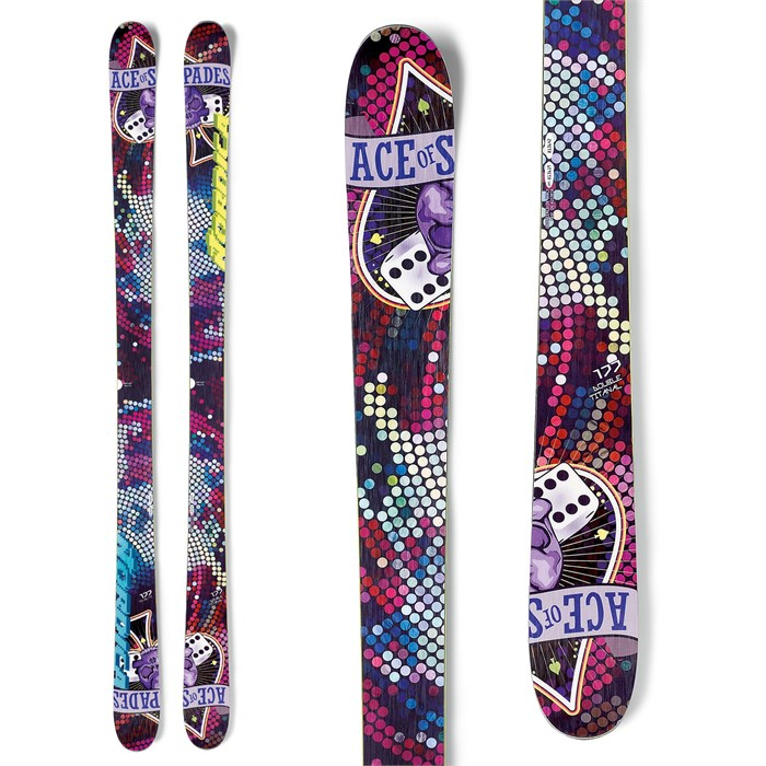 Nordica - Ace of Spades Ti Skis 2013
