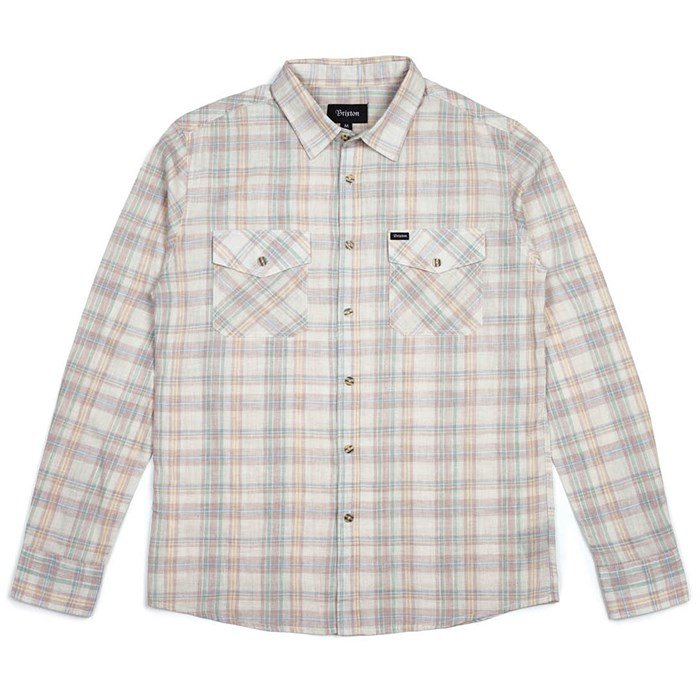 Brixton - Brixton Memphis Long-Sleeve Button-Down Shirt