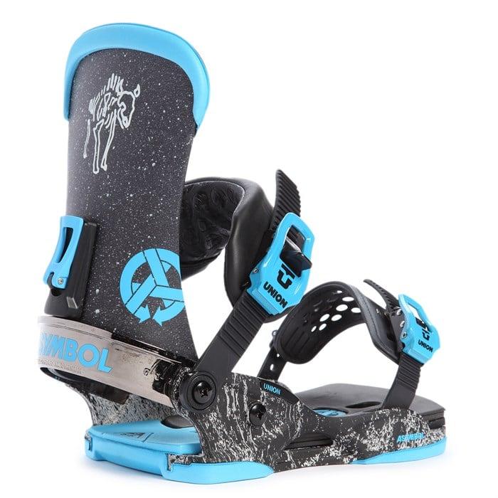 Union Asymbol Snowboard Bindings 2015