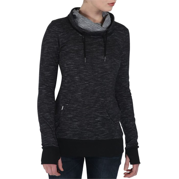 Womens Black Pullover Hoodie - Hardon Clothes