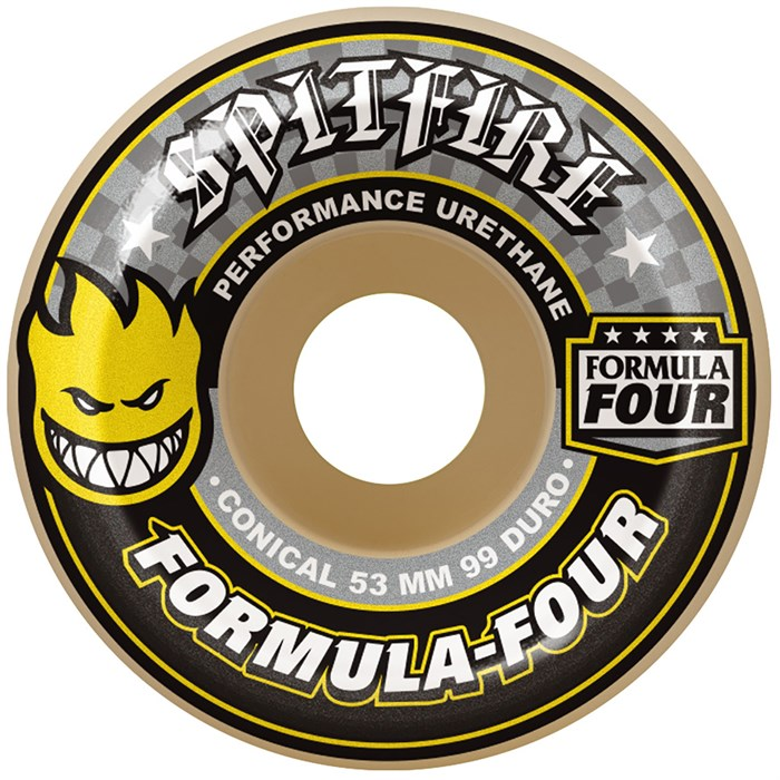 Spitfire - Formual Four 99d Conical Shape Skateboard Wheels