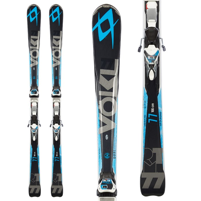 Volkl - RTM 77 Skis + 4Motion 11.0 Bindings 2015