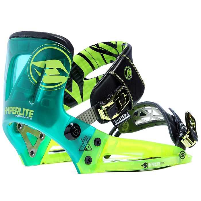 Hyperlite - The System Wakeboard Bindings 2015