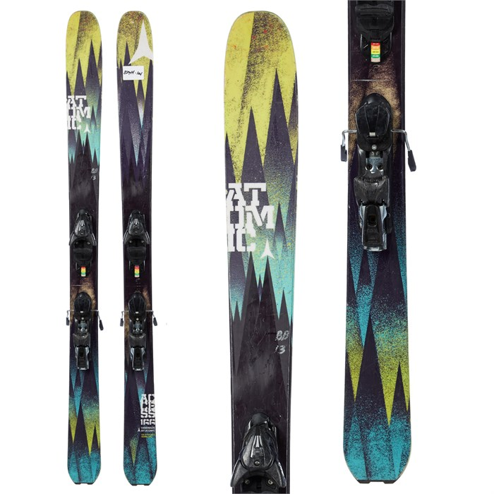 Atomic - Access Skis + FFG 12 Demo Bindings - Used 2013