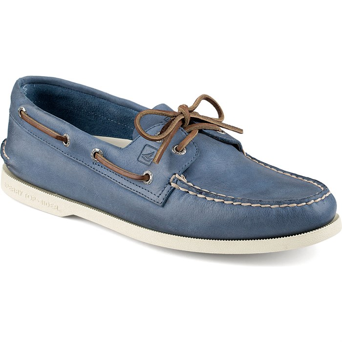 Blue Sperrys Shoe