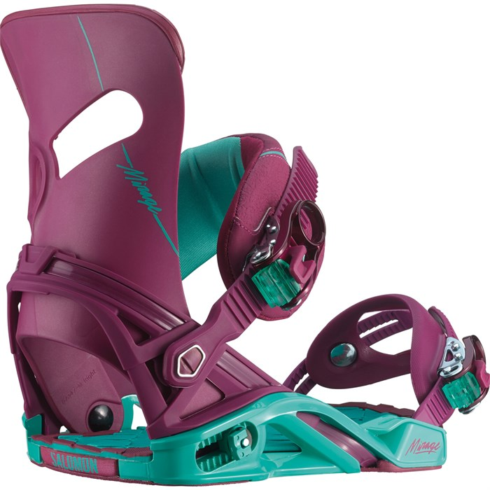 b02b3dce9867 Salomon Mirage Snowboard Bindings - Women s 2015
