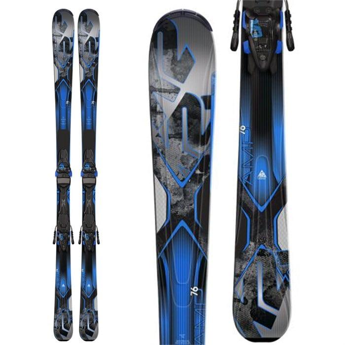 K2 Amp 76 Skis M3 10 Bindings 2015 Evo Outlet
