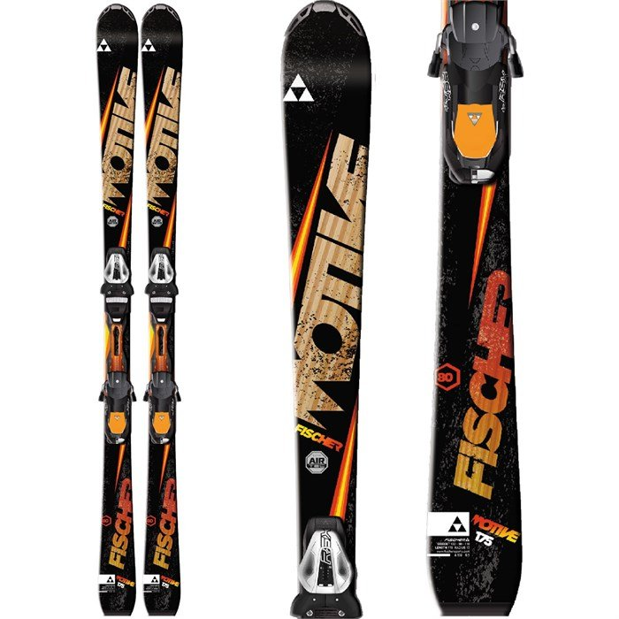 Fischer - Fischer Motive 80 Skis + RSX 12 Powerrail Bindings 2015