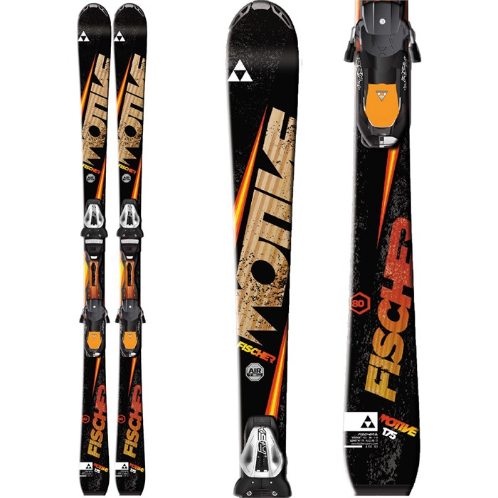 Fischer - Motive 80 Skis + RSX 12 Powerrail Bindings 2015
