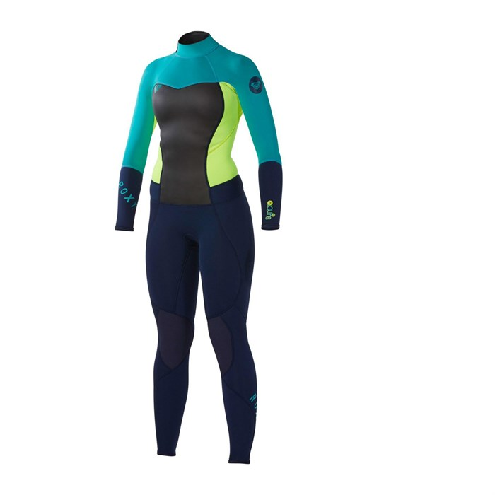 Roxy - Syncro 3/2 Back Zip Flat Lock Wetsuit - Women's