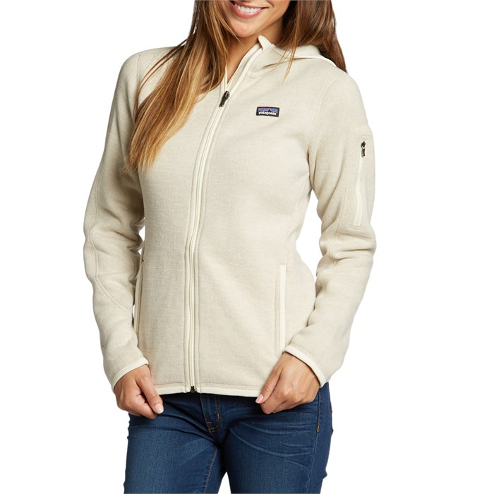 New Patagonia Blue Red Cream Fleece Full Zip Women Better