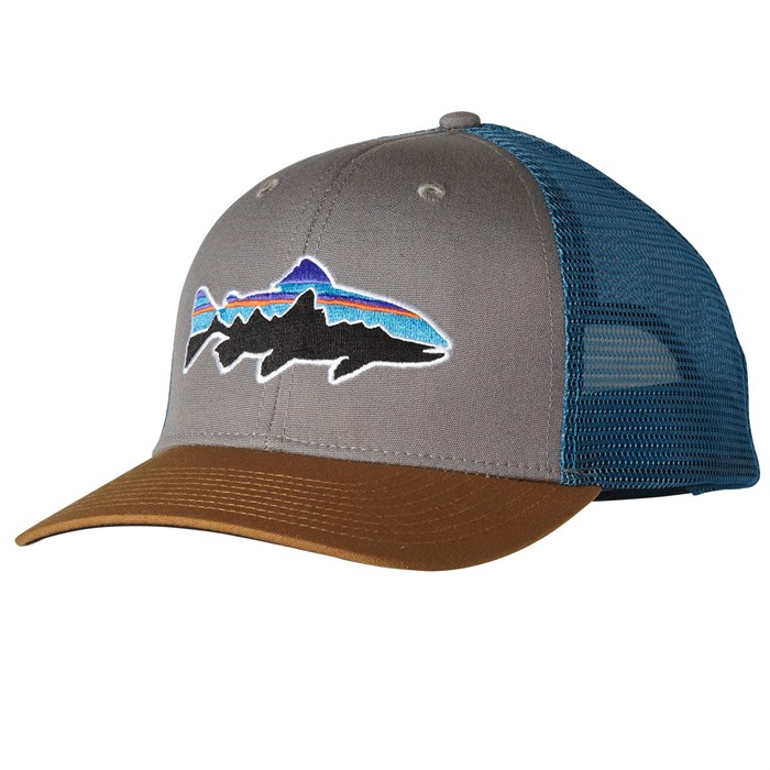 1aac43e5670e8 Patagonia - Fitz Roy Trout Trucker Hat ...