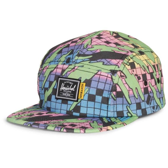 ed69800af4f ... washed pale indigo snapback hat f112a db779  wholesale herschel supply  co. glendale hat fce4e 08393