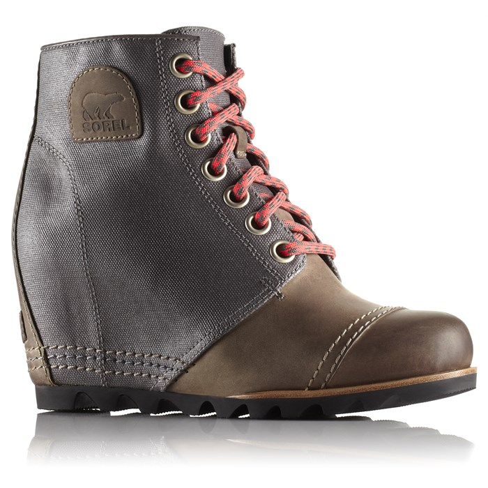 Sorel Leather Wedge Booties high quality buy online MKAbe