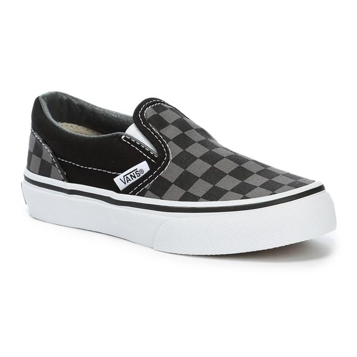 vans slip on shoes boys