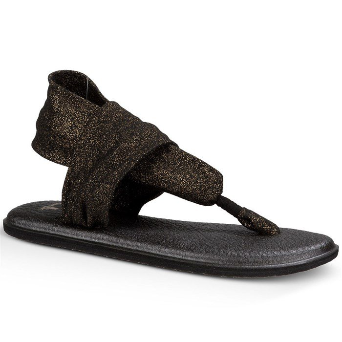 Sanuk Yoga Shoes Amazon: Sanuk Yoga Sling 2 Metallic Sandals - Women's