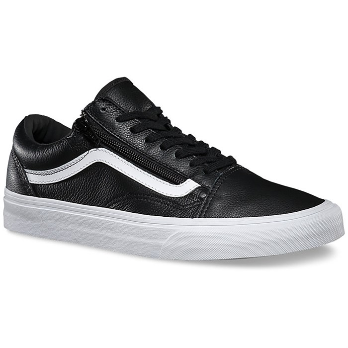 Vans Old Skool Zip Leather Shoes - Women's | evo outlet