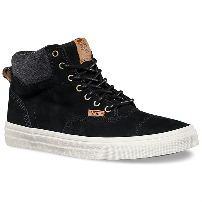 Vans ERA HI CA California Collection PIG SUEDE BLACK MIX Textiles