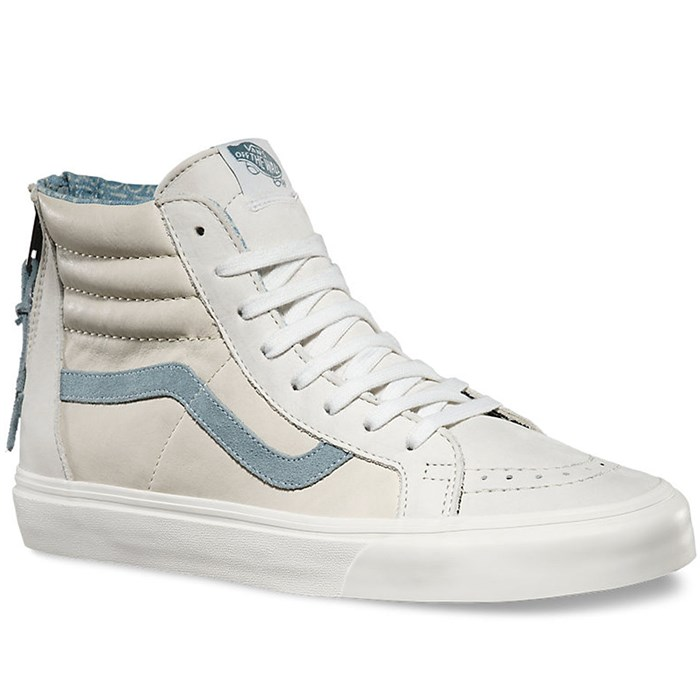 65260dc2c9c9df Vans - Sk8-Hi Zip CA Leather Shoes ...