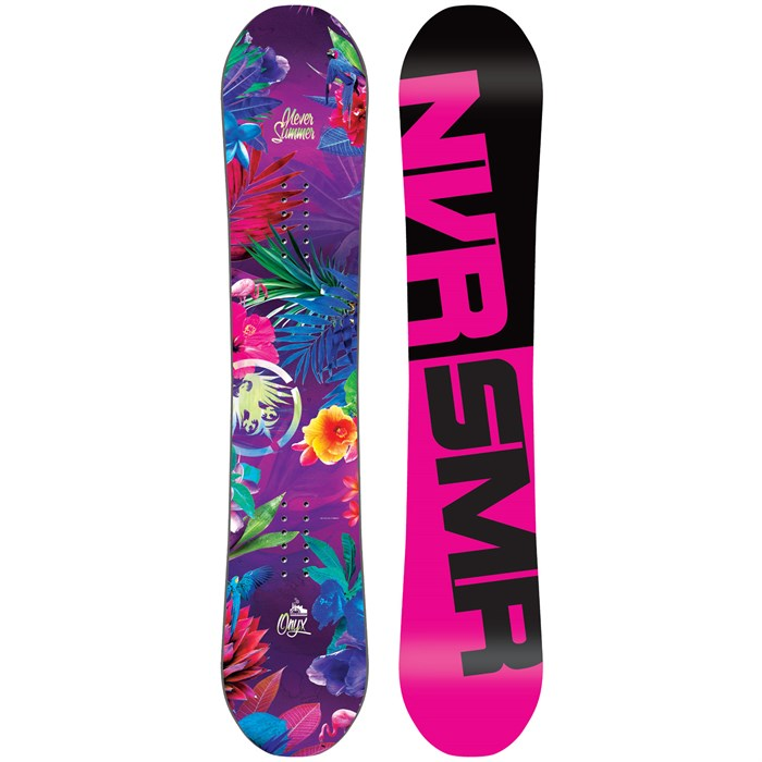 Never Summer - Onyx Mini Snowboard - Girls' 2016