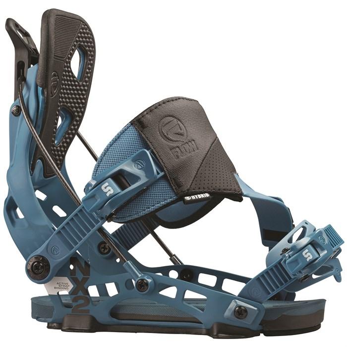 Flow Nx2 Hybrid Binding New 2015 Rear Entry Snowboard Bindings: Flow NX2 Hybrid Snowboard Bindings 2016