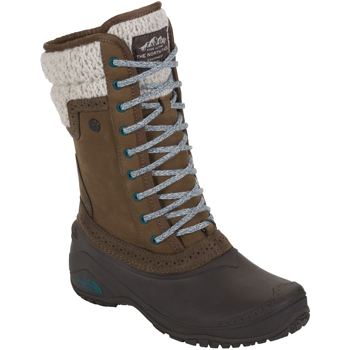 Model Because The Color Of These Wicked Womens Snow Boots Is Called Dachshund Brown But Dont Even Think These Are The Little Dogs In The World Of Snow Boots, Because Theyre Made By The Arctic Weather Experts At The North Face, A