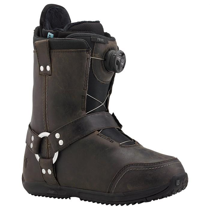burton x frye snowboard boots s 2015 evo